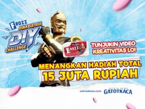 Yuk Ikutan Jiwa Satria DIY Challenge Dari Frozz & Satria Dewa Gatotkaca